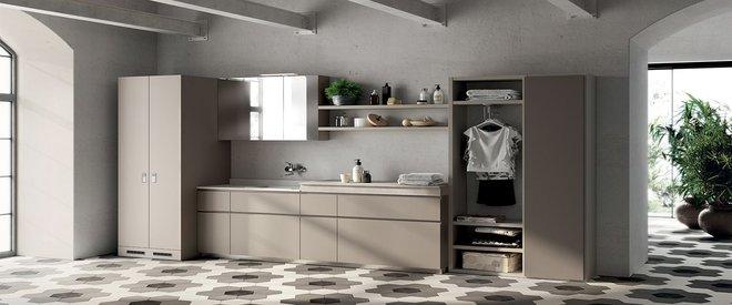 Ý tưởng mới chất lừ cho việc kết hợp phòng tắm và phòng giặt là thành không gian 2 trong 1 - Ảnh 10.