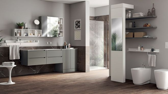Ý tưởng mới chất lừ cho việc kết hợp phòng tắm và phòng giặt là thành không gian 2 trong 1 - Ảnh 11.
