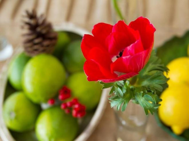 5 cách giúp bàn ăn đẹp lãng mạn và ấm cúng trong những ngày đầu năm - Ảnh 6.