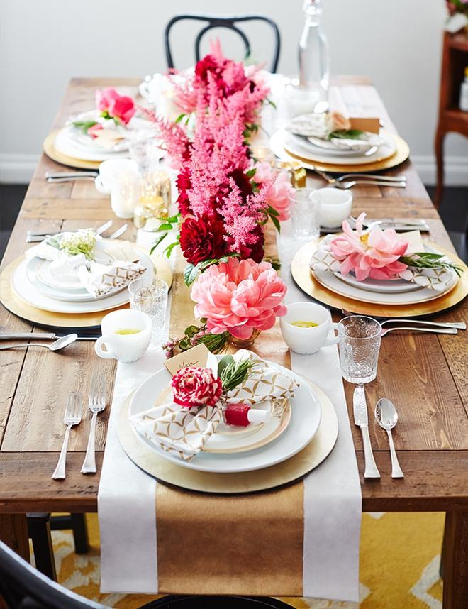 5 cách giúp bàn ăn đẹp lãng mạn và ấm cúng trong những ngày đầu năm - Ảnh 10.