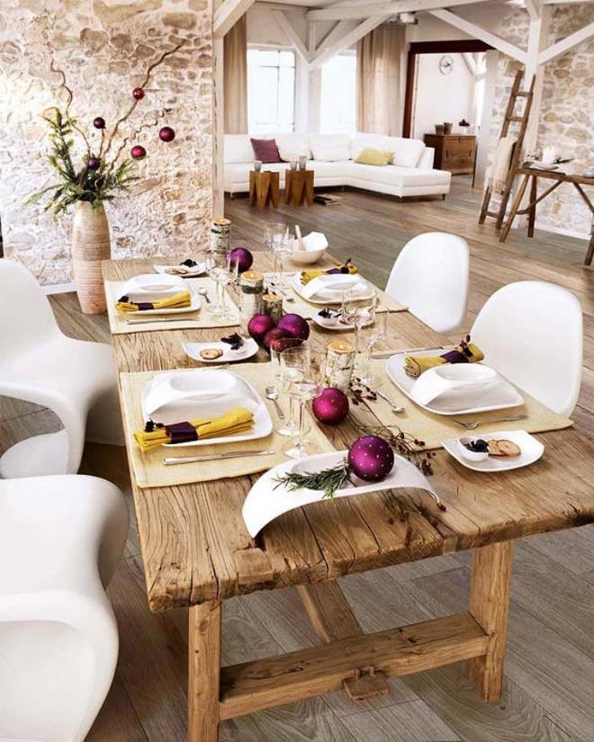 5 cách giúp bàn ăn đẹp lãng mạn và ấm cúng trong những ngày đầu năm - Ảnh 13.