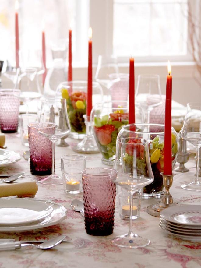 5 cách giúp bàn ăn đẹp lãng mạn và ấm cúng trong những ngày đầu năm - Ảnh 14.