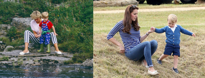 Những điểm chung thú vị trong cách nuôi dạy con của Công nương Diana và Kate Middleton - Ảnh 15.