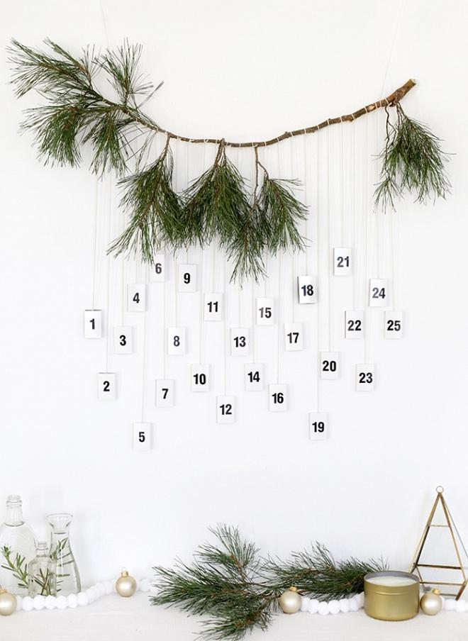 15 mẫu lịch treo tường vừa sáng tạo lại đẹp mắt dành cho những người thích đồ handmade - Ảnh 1.
