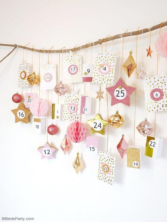 15 mẫu lịch treo tường vừa sáng tạo lại đẹp mắt dành cho những người thích đồ handmade - Ảnh 2.