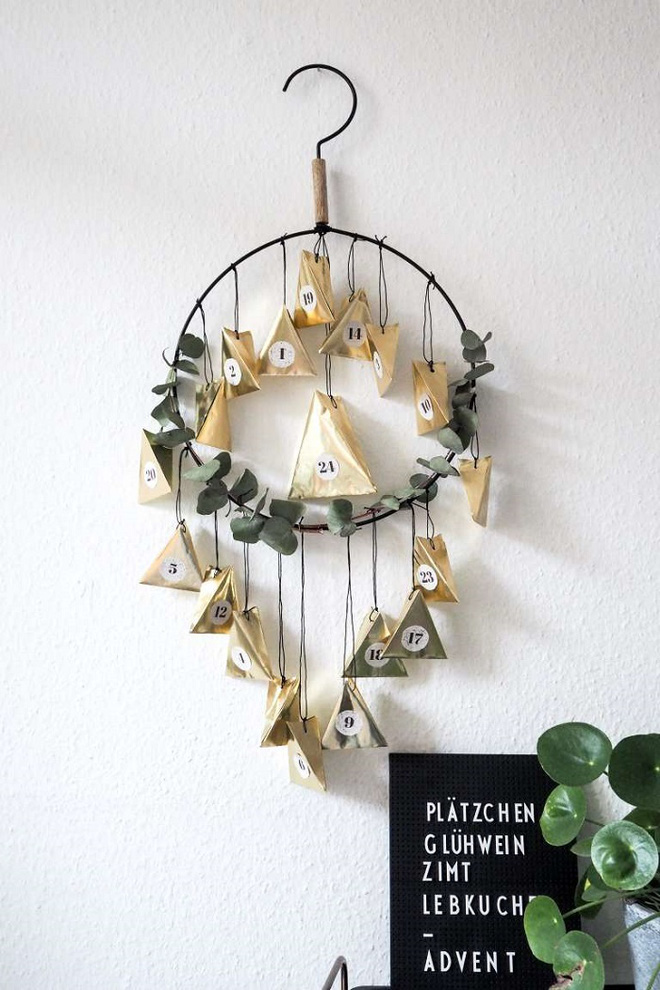 15 mẫu lịch treo tường vừa sáng tạo lại đẹp mắt dành cho những người thích đồ handmade - Ảnh 3.