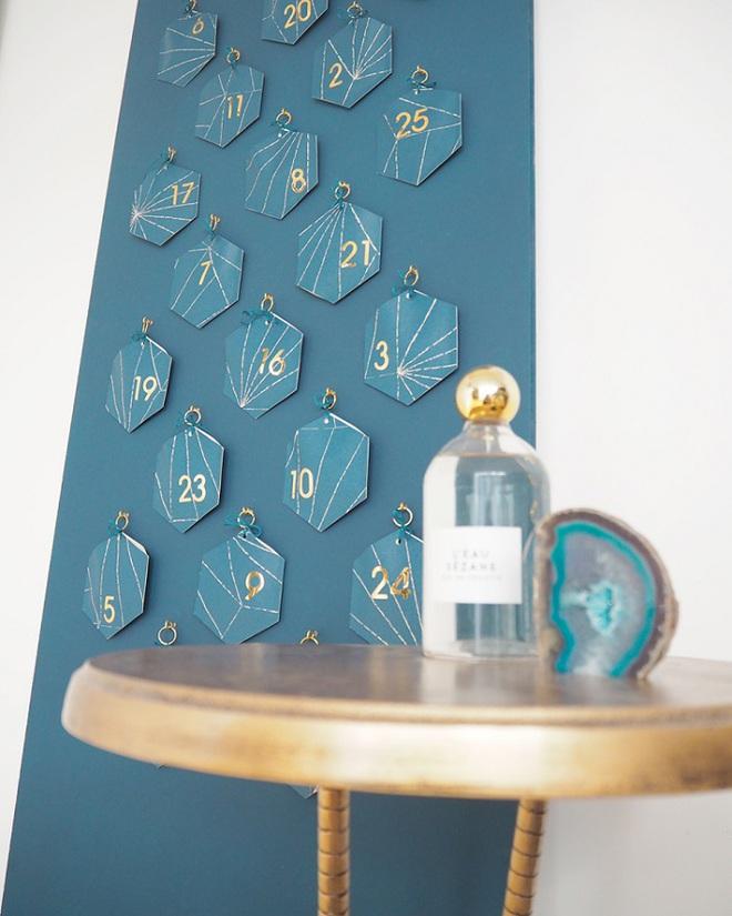 15 mẫu lịch treo tường vừa sáng tạo lại đẹp mắt dành cho những người thích đồ handmade - Ảnh 4.