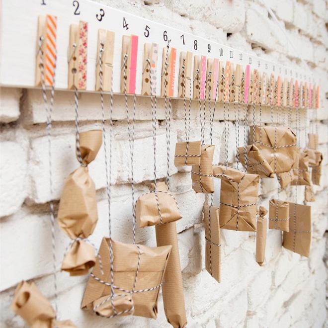 15 mẫu lịch treo tường vừa sáng tạo lại đẹp mắt dành cho những người thích đồ handmade - Ảnh 6.