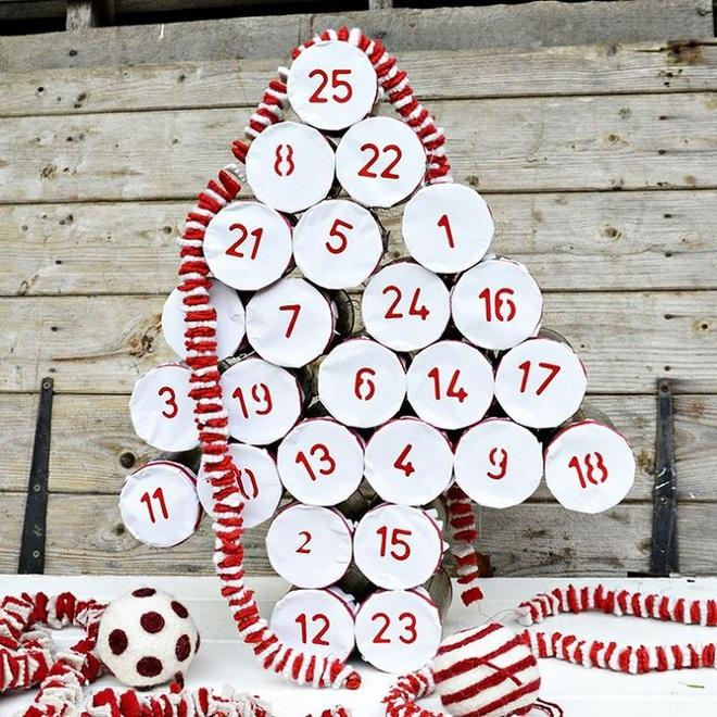 15 mẫu lịch treo tường vừa sáng tạo lại đẹp mắt dành cho những người thích đồ handmade - Ảnh 9.