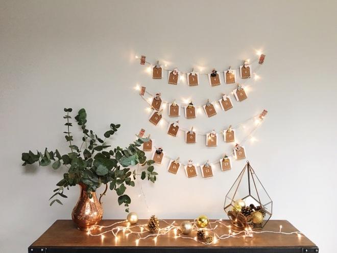 15 mẫu lịch treo tường vừa sáng tạo lại đẹp mắt dành cho những người thích đồ handmade - Ảnh 11.