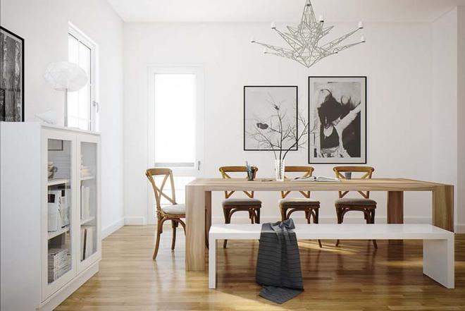 Tham khảo ngay những mẫu thiết kế này nếu bạn muốn có một phòng ăn đẹp miễn chê - Ảnh 1.