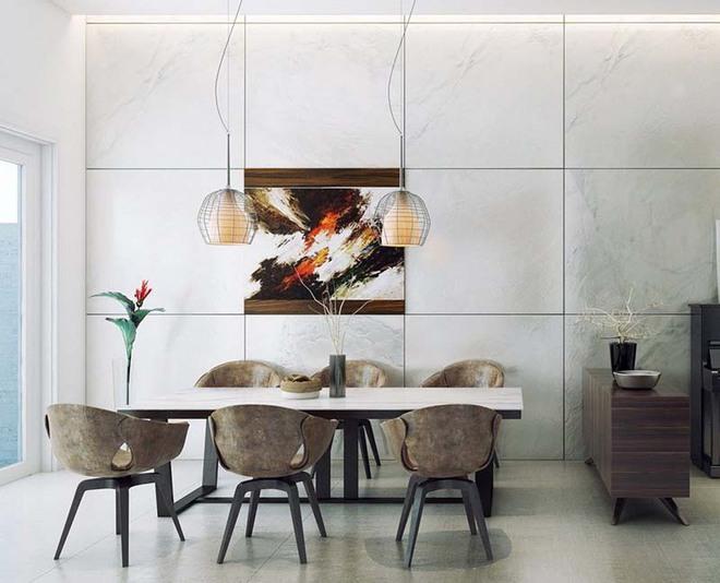 Tham khảo ngay những mẫu thiết kế này nếu bạn muốn có một phòng ăn đẹp miễn chê - Ảnh 4.