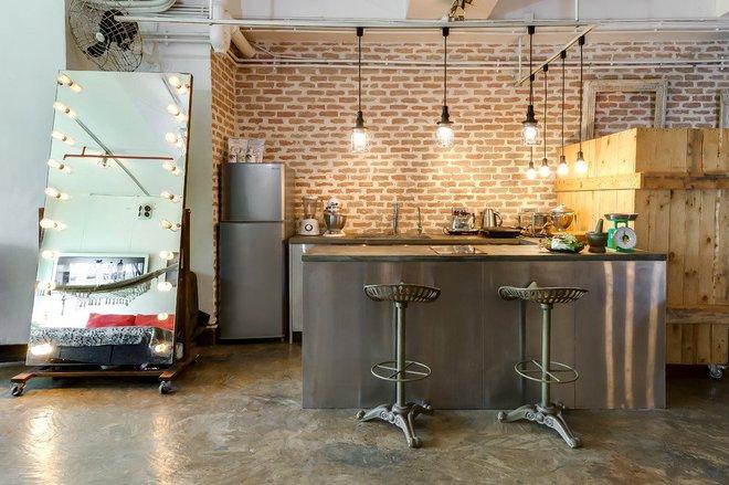 Những căn bếp mang phong cách công nghiệp khiến bạn chẳng thể làm ngơ - Ảnh 2.