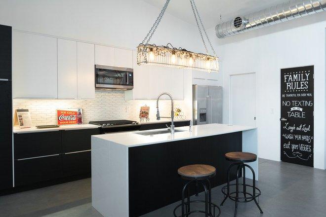 Những căn bếp mang phong cách công nghiệp khiến bạn chẳng thể làm ngơ - Ảnh 3.