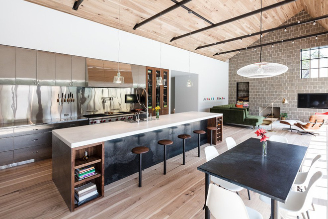 Những căn bếp mang phong cách công nghiệp khiến bạn chẳng thể làm ngơ - Ảnh 8.