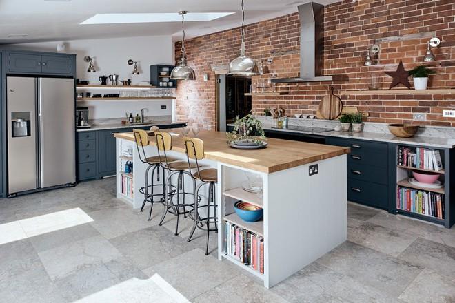 Những căn bếp mang phong cách công nghiệp khiến bạn chẳng thể làm ngơ - Ảnh 9.
