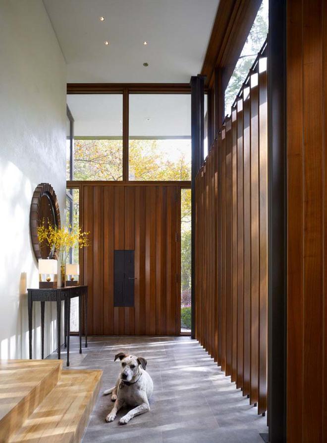 Thiết kế lối vào nhà hiện đại nói thay lời chào mừng với mỗi vị khách đến nhà - Ảnh 3.