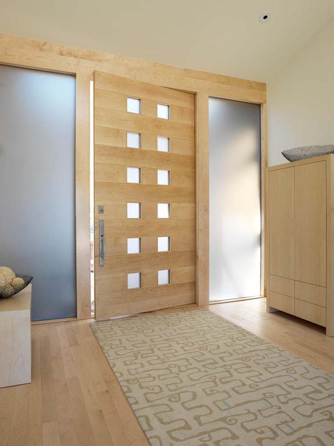 Thiết kế lối vào nhà hiện đại nói thay lời chào mừng với mỗi vị khách đến nhà - Ảnh 4.