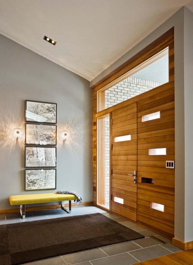 Thiết kế lối vào nhà hiện đại nói thay lời chào mừng với mỗi vị khách đến nhà - Ảnh 8.