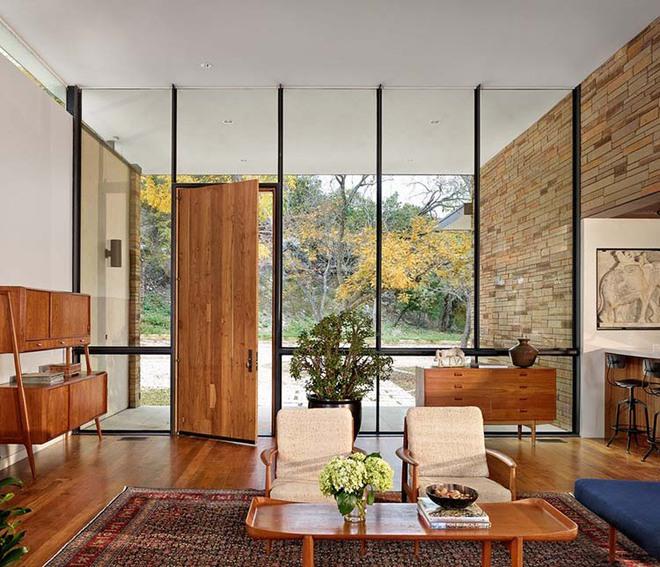 Thiết kế lối vào nhà hiện đại nói thay lời chào mừng với mỗi vị khách đến nhà - Ảnh 13.