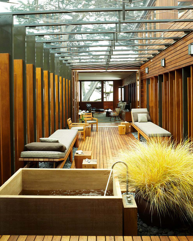 Ghi điểm tuyệt đối với khách đến nhà bằng những mẫu hiên nhà tuyệt vời này - Ảnh 12.