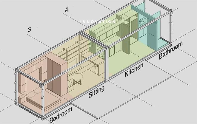 Ngôi nhà sinh thái bằng gỗ thân thiện với môi trường được hoàn thiện chỉ trong 1 tháng   - Ảnh 2.