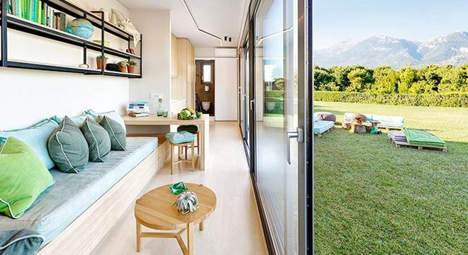 Ngôi nhà sinh thái bằng gỗ thân thiện với môi trường được hoàn thiện chỉ trong 1 tháng   - Ảnh 7.