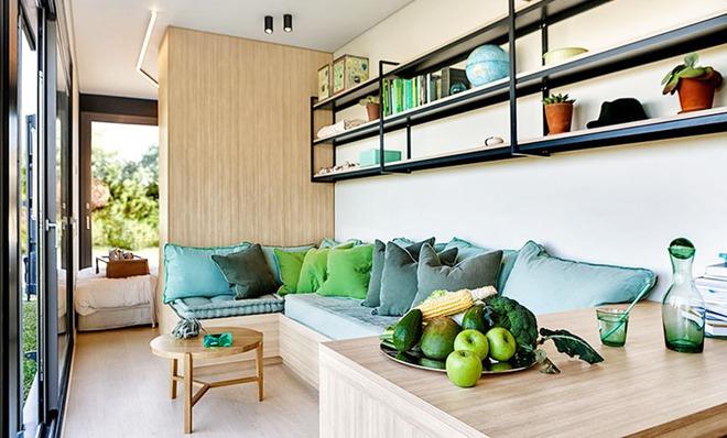 Ngôi nhà sinh thái bằng gỗ thân thiện với môi trường được hoàn thiện chỉ trong 1 tháng   - Ảnh 8.