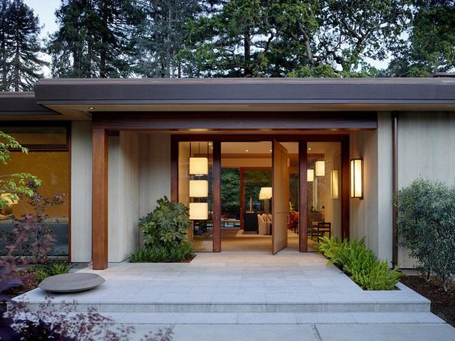 Chỉ lối vào nhà thôi cũng có đủ kiểu thiết kế cho bạn lựa chọn rồi - Ảnh 9.