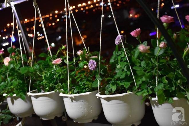 Ngắm ban công chỉ vỏn vẹn 2,2m² nhưng có tới hơn 20 chậu hồng thơm ngát ở Sài Gòn - Ảnh 2.