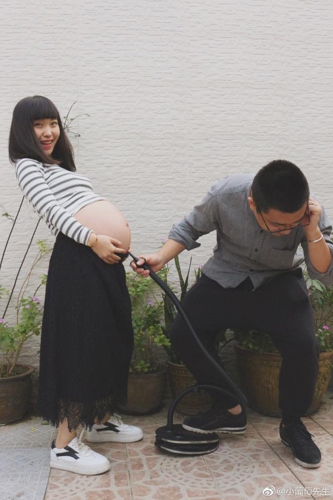 Chỉ với 9 bức ảnh, cặp vợ chồng trẻ đã kể hành trình mang thai - sinh con theo cách chẳng giống ai - Ảnh 8.