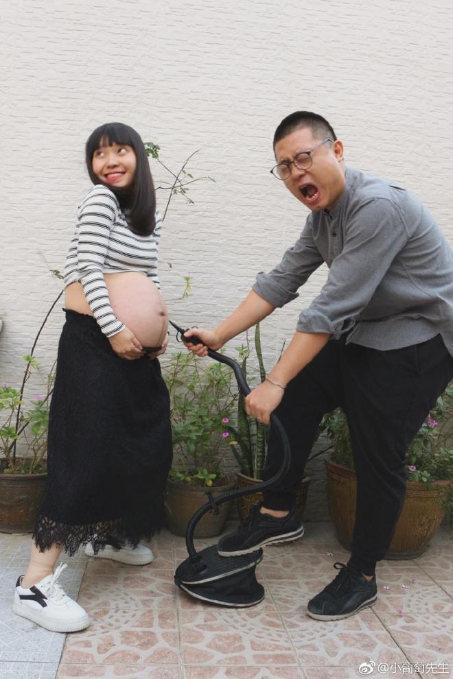 Chỉ với 9 bức ảnh, cặp vợ chồng trẻ đã kể hành trình mang thai - sinh con theo cách chẳng giống ai - Ảnh 9.