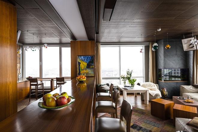Khiến mọi vị khách đến chơi đều phải xuýt xoa khen ngợi với mẫu quầy bar tại nhà hiện đại - Ảnh 5.