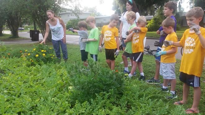 Khu vườn tạo cảm hứng cho hàng nghìn trẻ em yêu thích trồng trọt ở Mỹ - Ảnh 15.