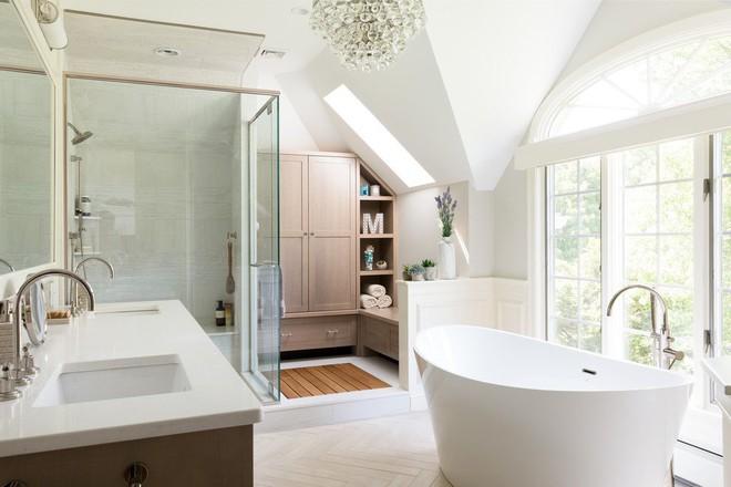 Chẳng thể tin lại có những căn phòng tắm đầy mê hoặc đến thế - Ảnh 1.