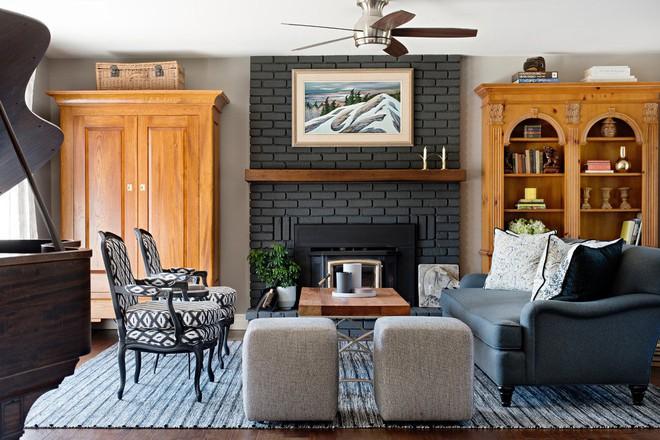 Lịm tim với những căn phòng khách kết hợp hài hòa giữa truyền thống và hiện đại - Ảnh 7.
