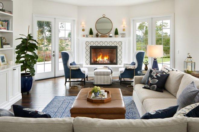 Lịm tim với những căn phòng khách kết hợp hài hòa giữa truyền thống và hiện đại - Ảnh 13.
