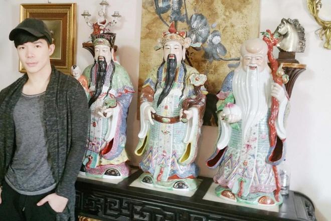 Chiêm ngưỡng ngôi nhà dát vàng triệu đô của nam ca sĩ Nathan Lee ở Hà Nội - Ảnh 5.