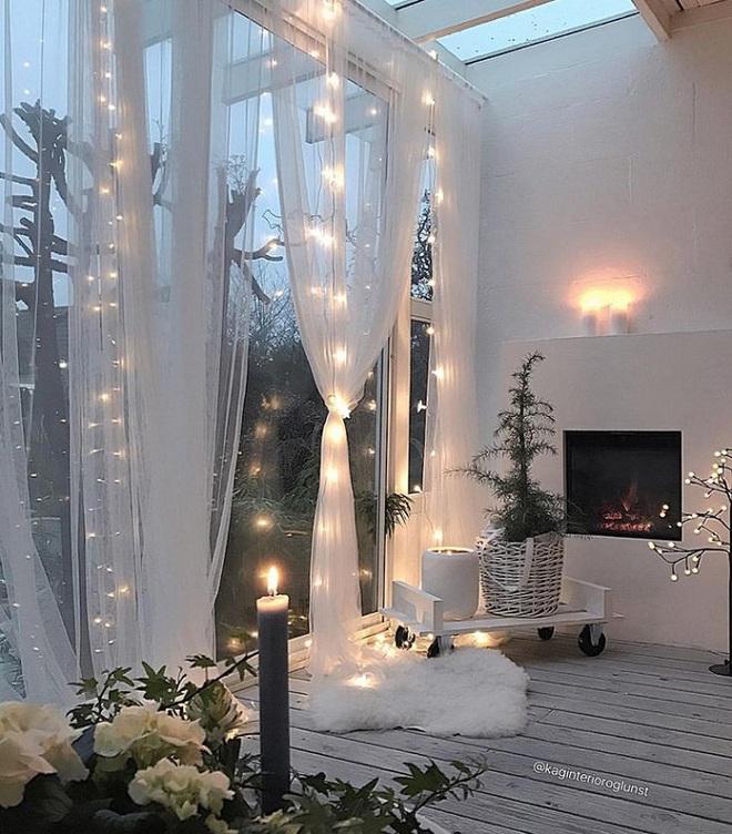 Những điều bạn cần phải biết về việc sử dụng đèn dây trong trang trí phòng khách - Ảnh 8.