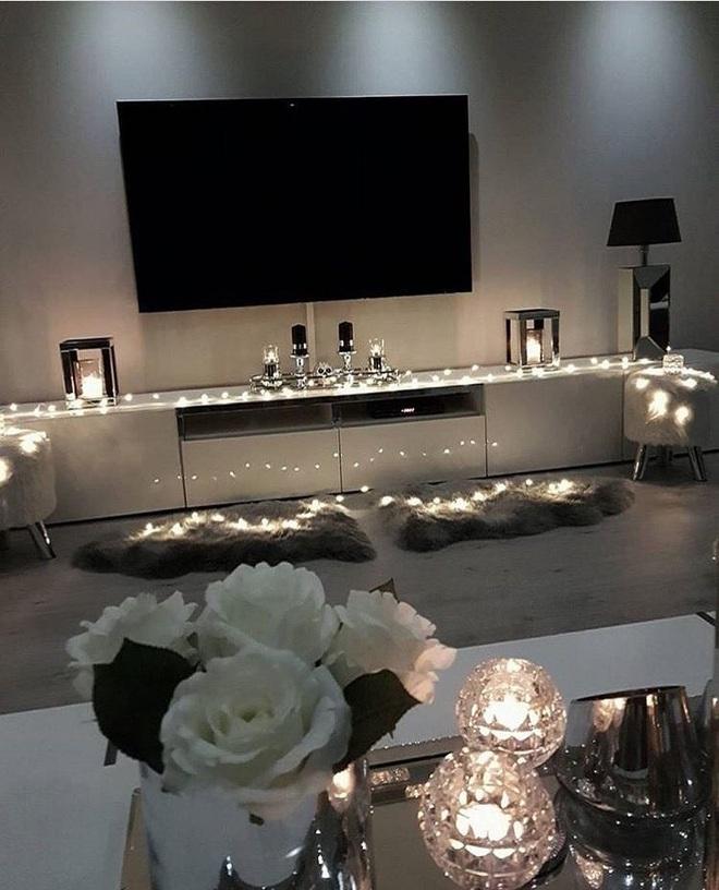 Những điều bạn cần phải biết về việc sử dụng đèn dây trong trang trí phòng khách - Ảnh 13.