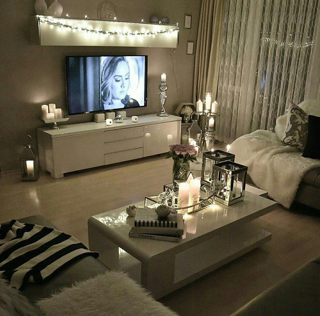 Những điều bạn cần phải biết về việc sử dụng đèn dây trong trang trí phòng khách - Ảnh 14.