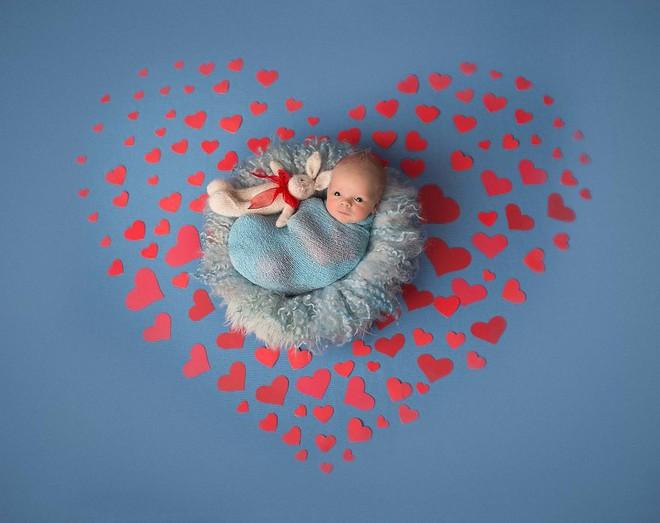 Ngất ngây với chùm ảnh những em bé sơ sinh cuộn tròn say ngủ - Ảnh 16.