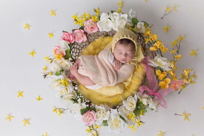 Ngất ngây với chùm ảnh những em bé sơ sinh cuộn tròn say ngủ - Ảnh 17.