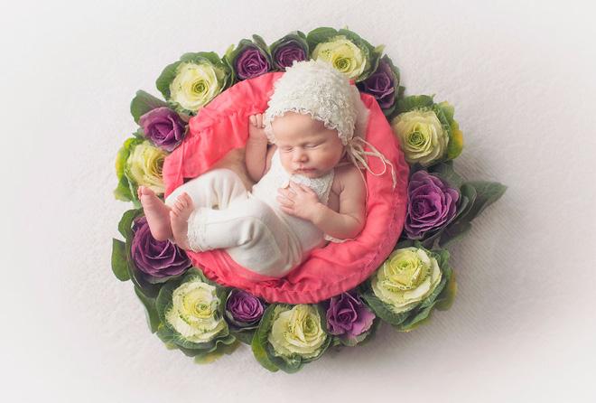 Ngất ngây với chùm ảnh những em bé sơ sinh cuộn tròn say ngủ - Ảnh 27.
