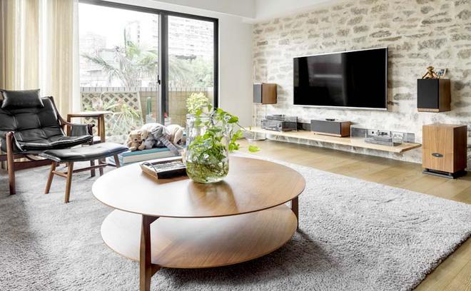 Căn hộ cuốn hút mọi ánh nhìn nhờ ưu ái thiết kế với chất liệu gỗ - Ảnh 3.