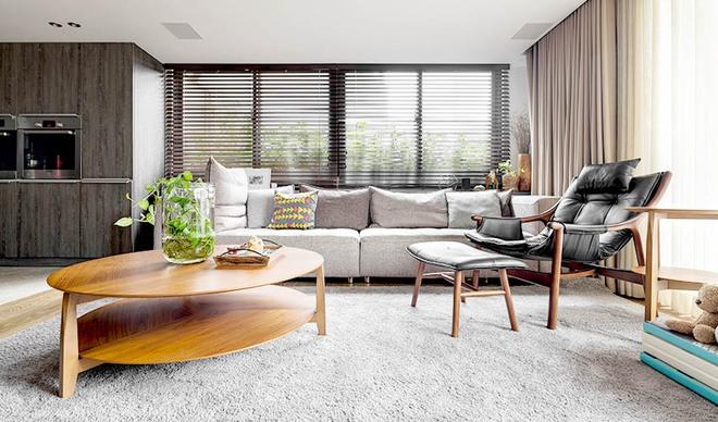 Căn hộ cuốn hút mọi ánh nhìn nhờ ưu ái thiết kế với chất liệu gỗ - Ảnh 4.