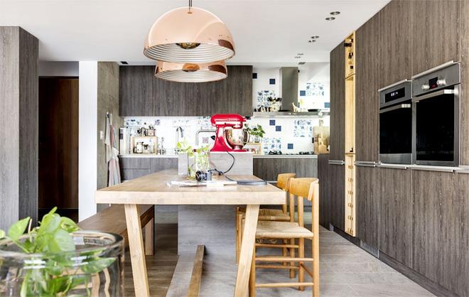 Căn hộ cuốn hút mọi ánh nhìn nhờ ưu ái thiết kế với chất liệu gỗ - Ảnh 8.