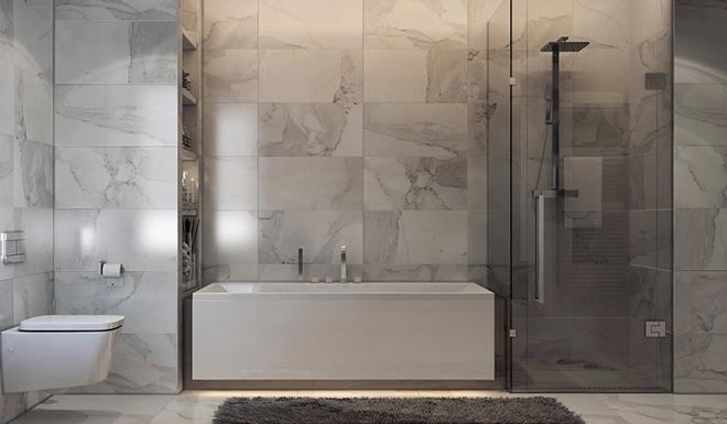 Những mẫu bồn tắm dưới đây sẽ giúp nhà tắm tỏa sáng bất ngờ - Ảnh 4.