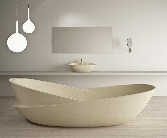 Những mẫu bồn tắm dưới đây sẽ giúp nhà tắm tỏa sáng bất ngờ - Ảnh 6.