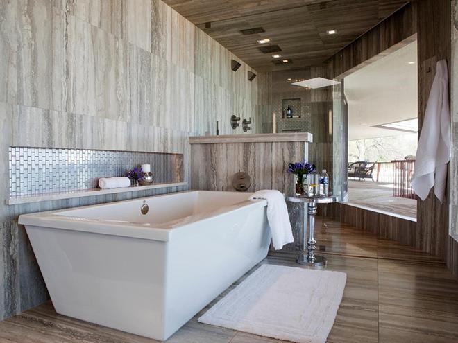 Những mẫu bồn tắm dưới đây sẽ giúp nhà tắm tỏa sáng bất ngờ - Ảnh 7.